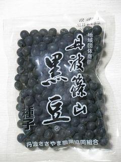 丹波篠山黒豆種子